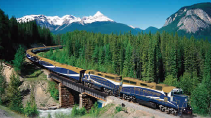 Rocky Mountaineer Train (Calgary, Banff, and Vancouver)